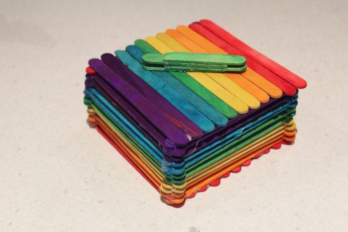 13+ DIY Popsicle Sticks Home Decor Ideas
