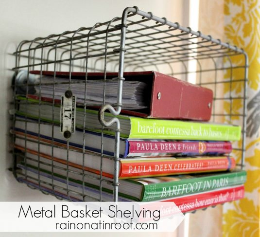 10+ Fabulous DIY Projects With Wire Baskets
