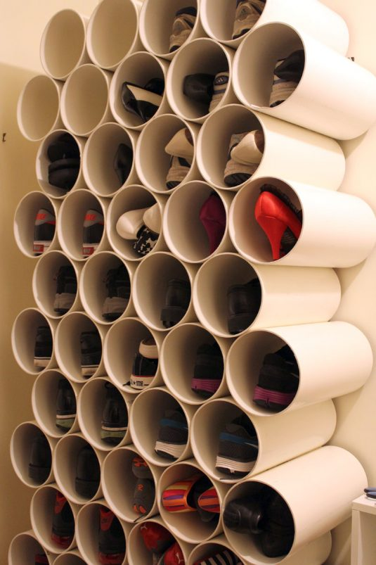 15+ PVC Pipe Organization Hacks