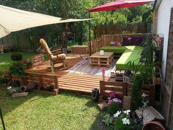 recycle wooden pallets 0