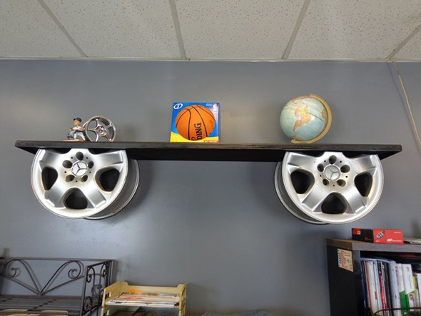 recycled car parts ideas 11