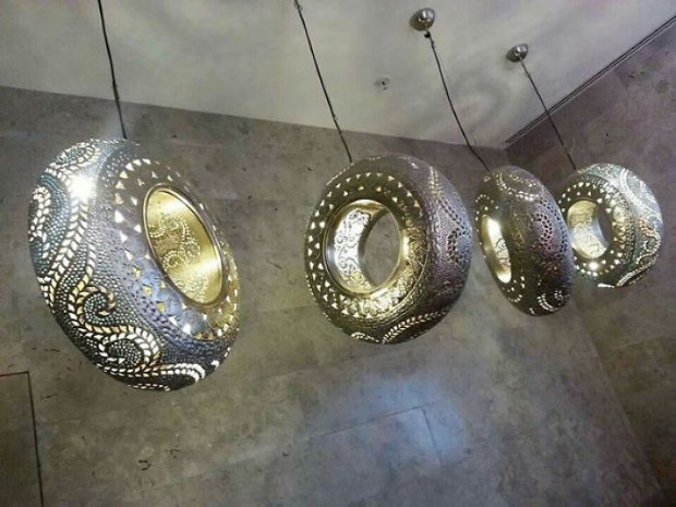recycled car parts ideas 12