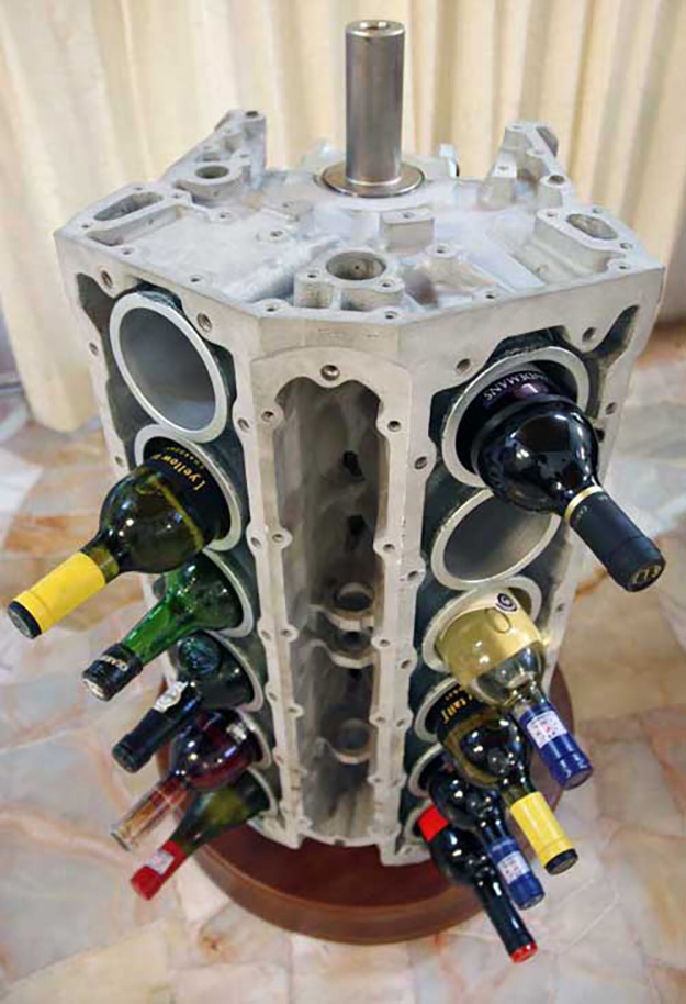 recycled car parts ideas 4