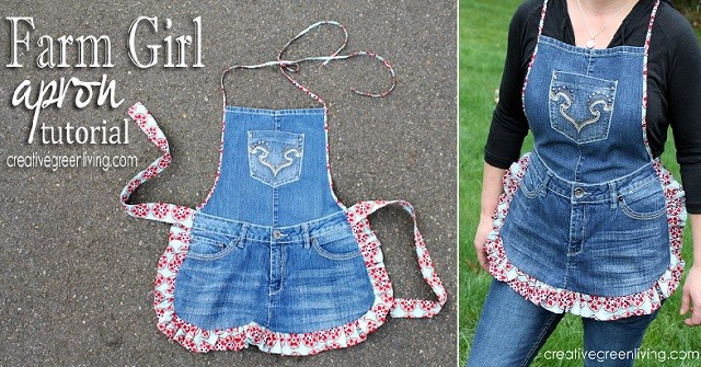 recycled old jeans 2