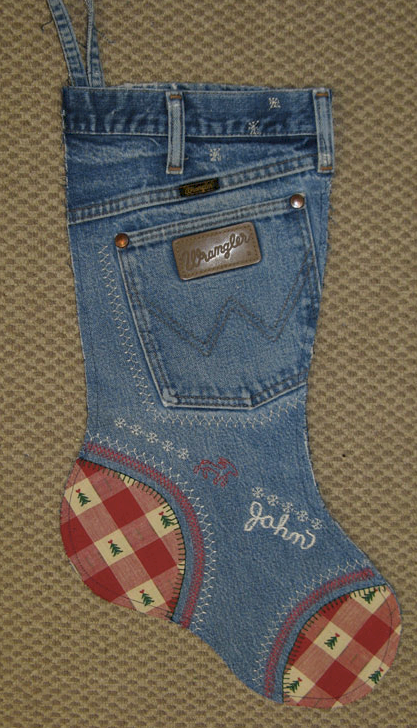 recycled old jeans 5