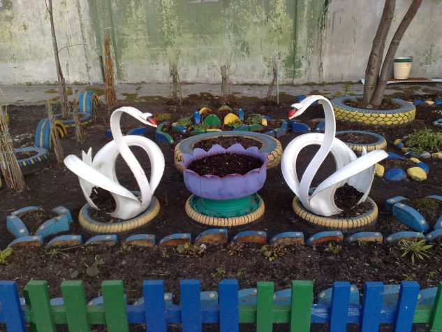 reuse the old tires 2