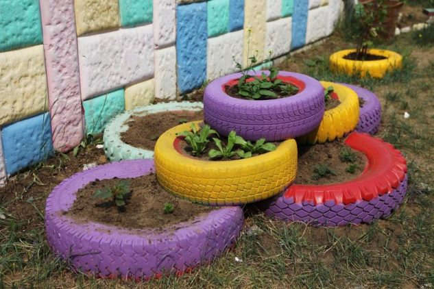 15+ Charming DIY Ideas to Reuse Old Tires