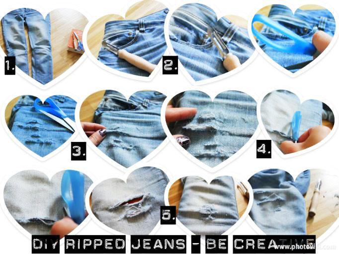 DIY Ideas For Making Fantastic Jeans