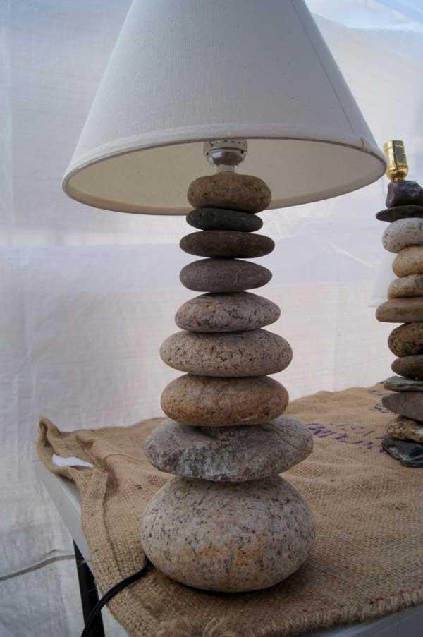 rocks decor home 13