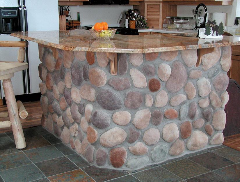rocks decor home 2