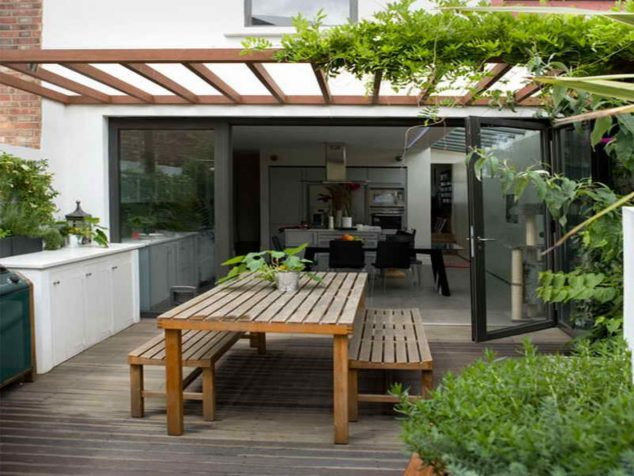 13 Stunning Roof Top Balcony Garden Design