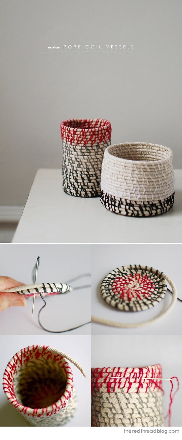 15+ Charming DIY Rope Ideas