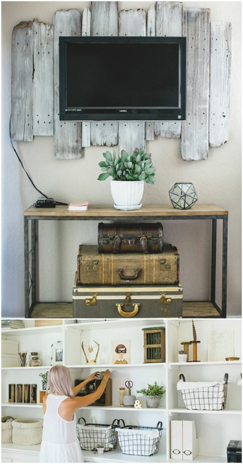 Decorative Rustic Storage Projects For Your Bathroom: 25+ Decorative Rustic Storage Projects
