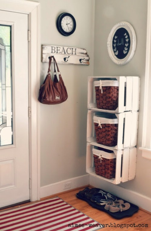 20+ DIY Awesome Rustic Wooden Crates Projects