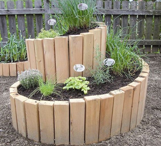 shaped raised bed gardens 10