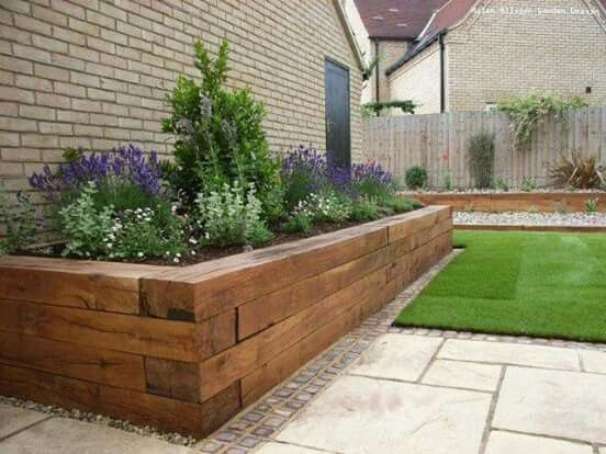 shaped raised bed gardens 13
