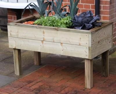 shaped raised bed gardens 14