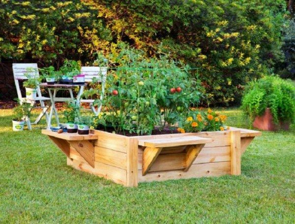 shaped raised bed gardens 15