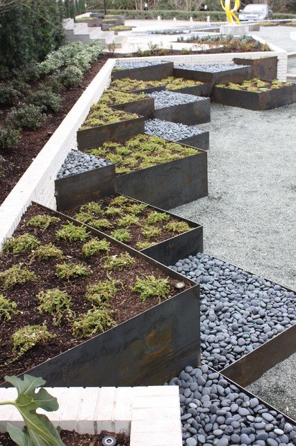 shaped raised bed gardens 8