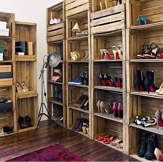 shoe storage hacks 14