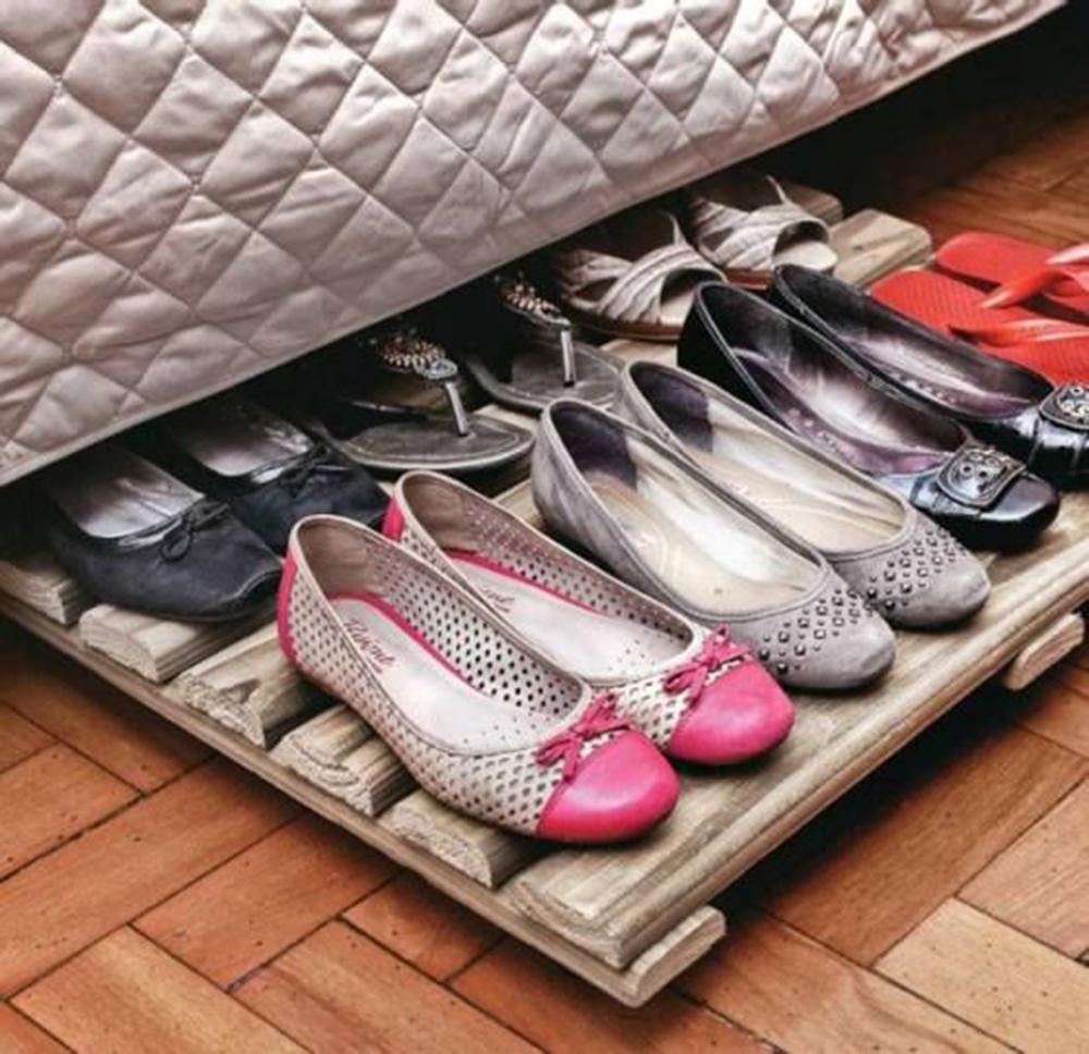 shoe storage hacks 18