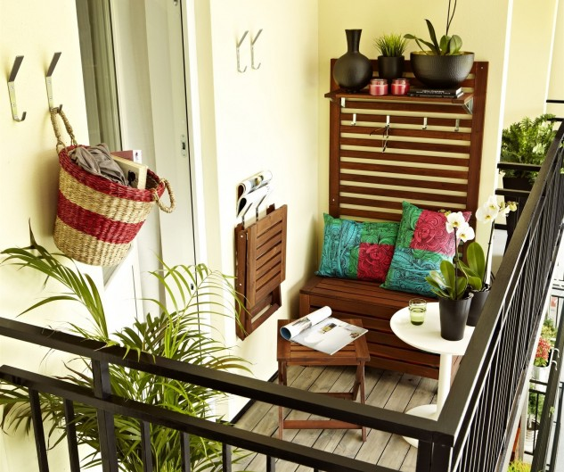 15+ Superb Small Balcony Designs