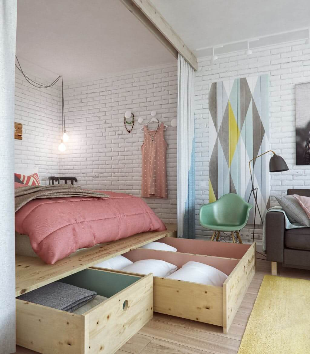 space saving small bedroom 5