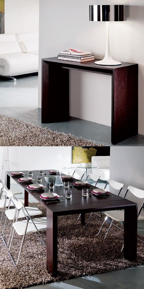 15 superb space saving table ideas