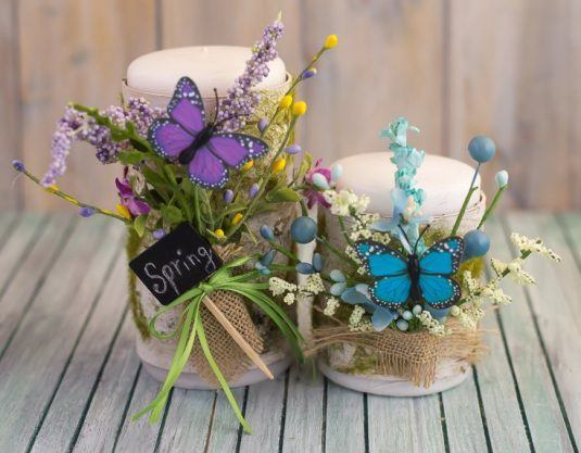 spring candles 6