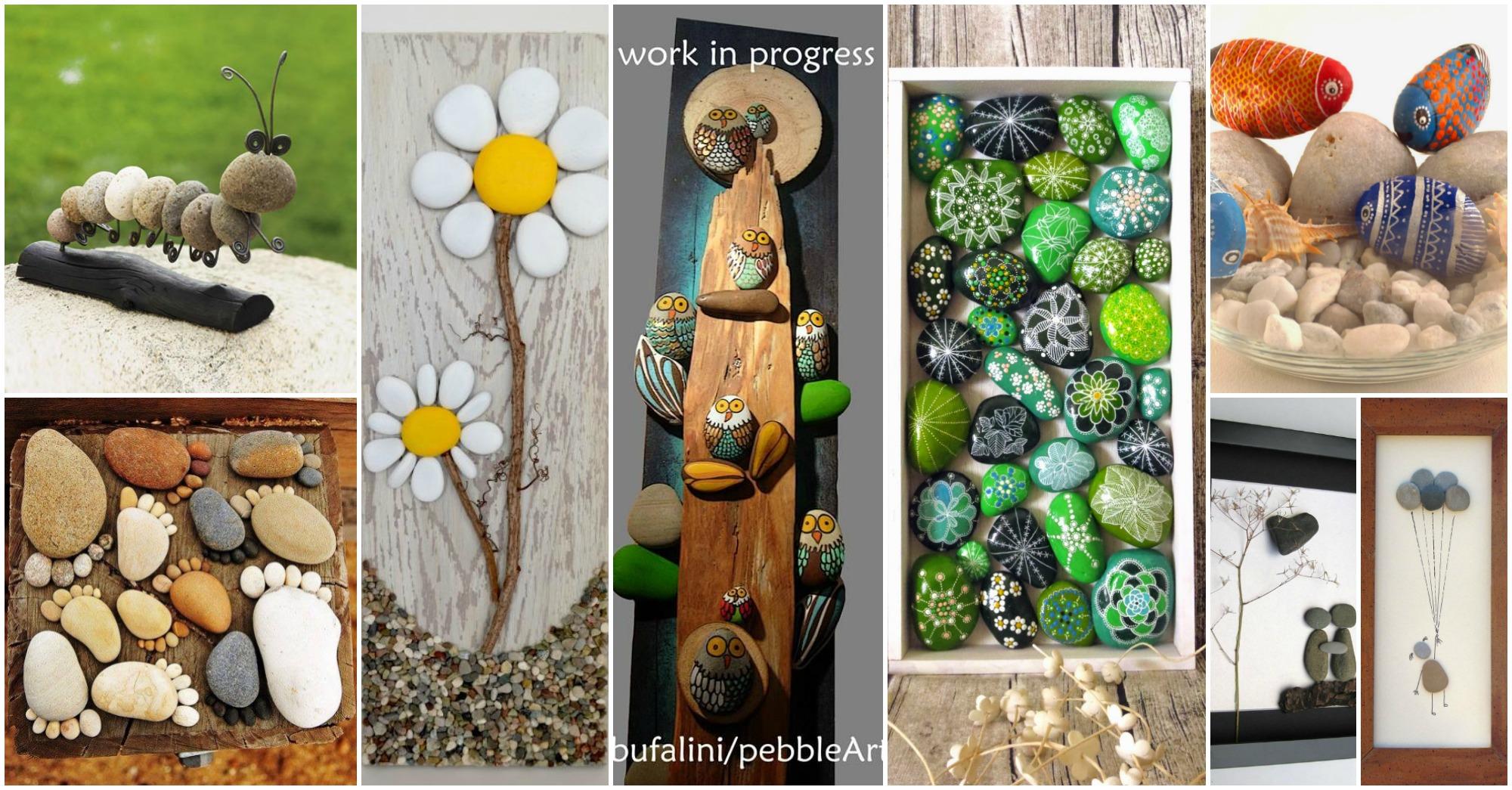 20 awesome stone crafts creativity