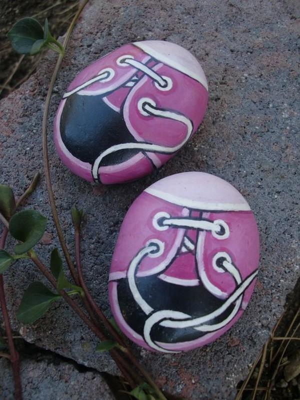 stone pebble crafts 16