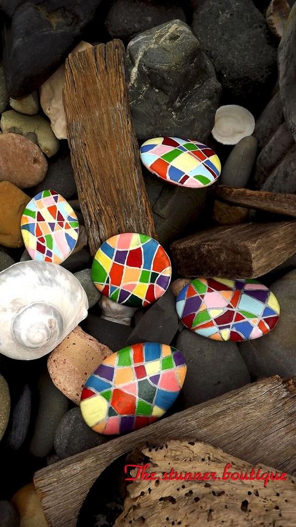 stone pebble crafts 3