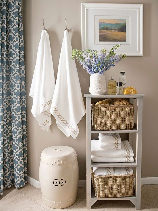 storage solutions for small bathrooms 17