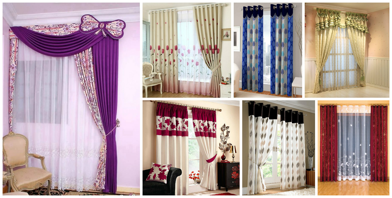 15 superb stylish curtains design - Simply amazing black and white curtains to decorate your home interior ...