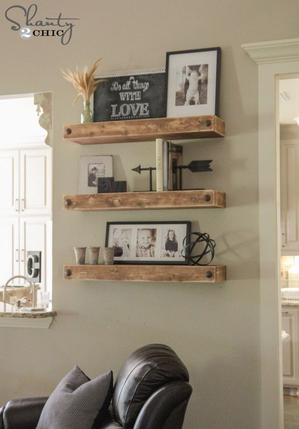stylish floating shelves 1