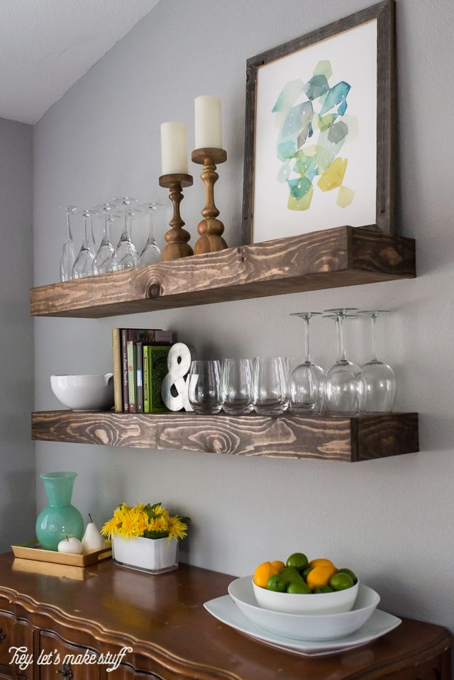 stylish floating shelves 10