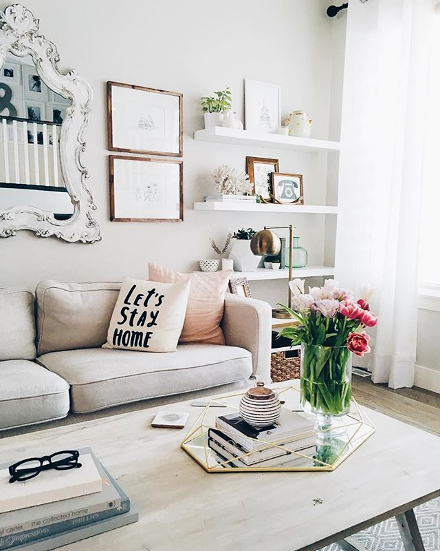 stylish floating shelves 11