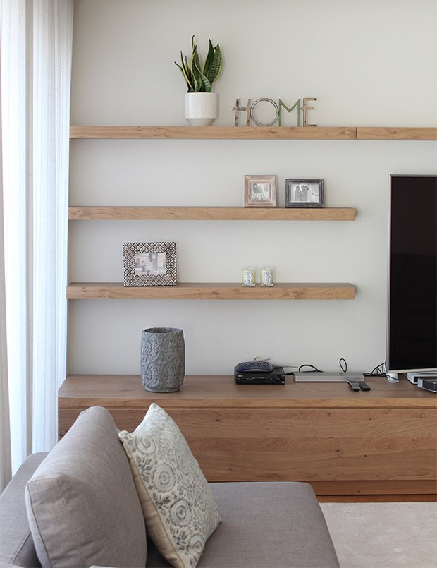 stylish floating shelves 2