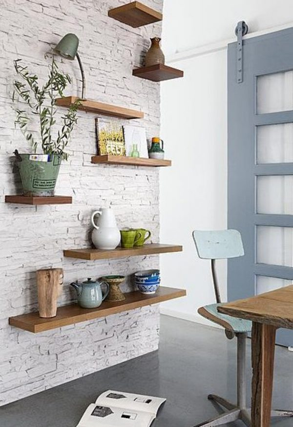stylish floating shelves 7
