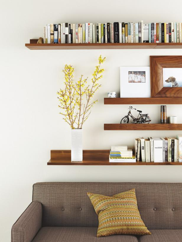 stylish floating shelves 8
