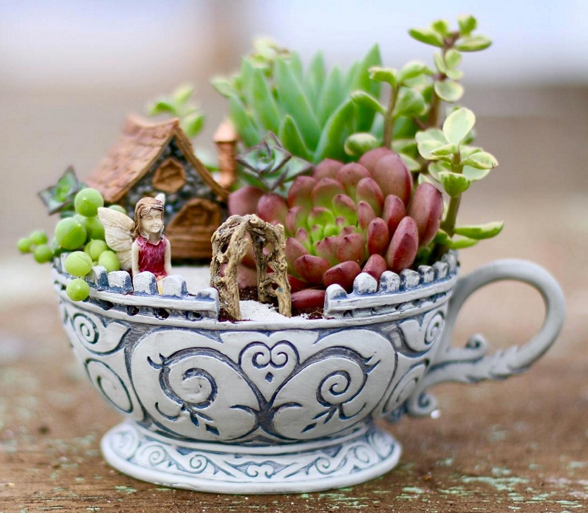 teacup garden ideas 1