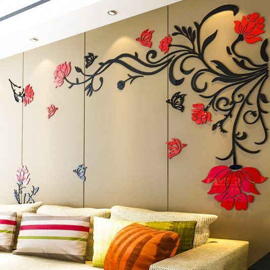 Awesome 3D Wall Stickers For Your Home Decor