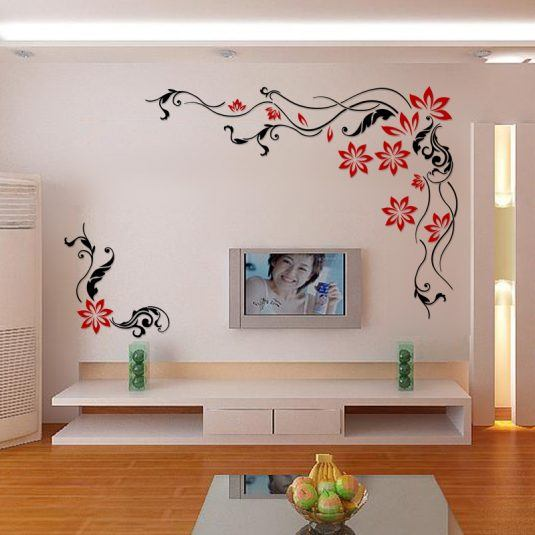 Awesome 3d wall stickers for your home decor for 3d wall stickers for bedrooms