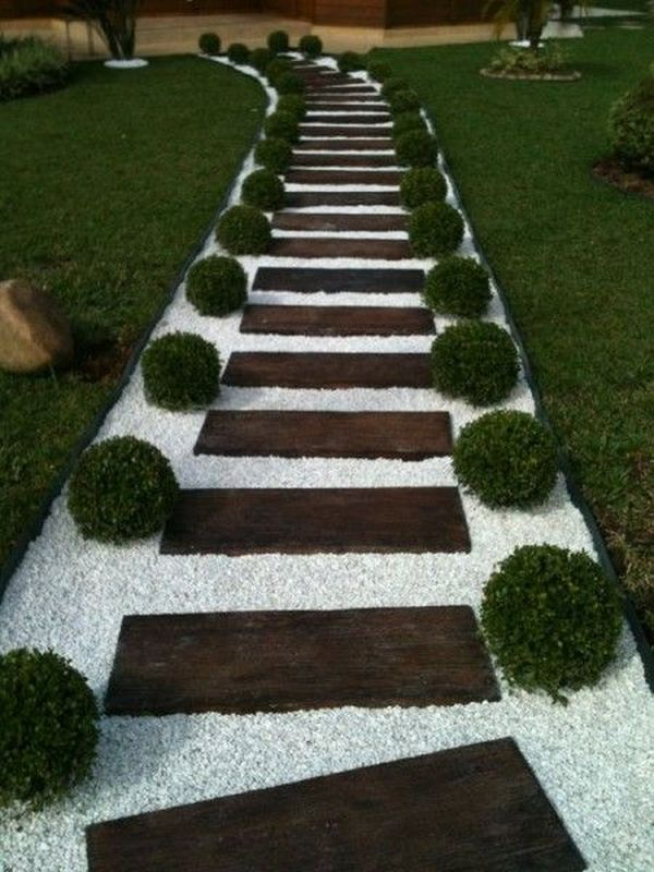 15+ Superb White Pebble Walkways