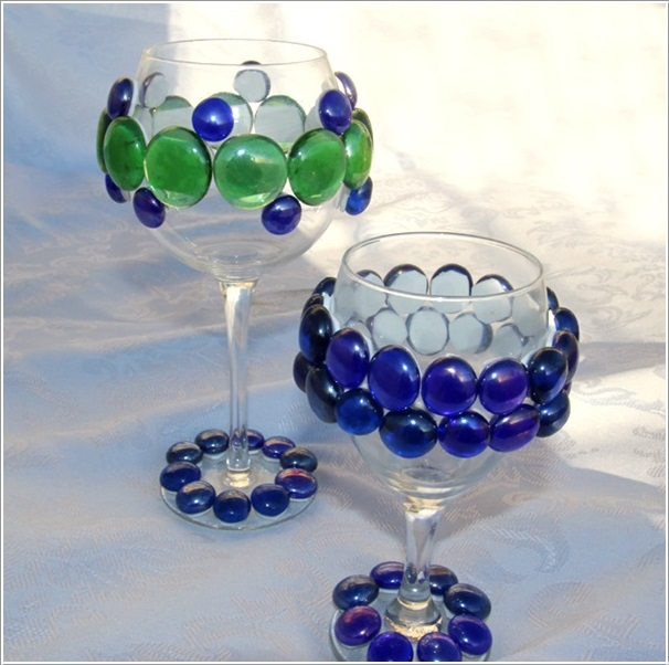Clever Things To Do With Wine Glasses