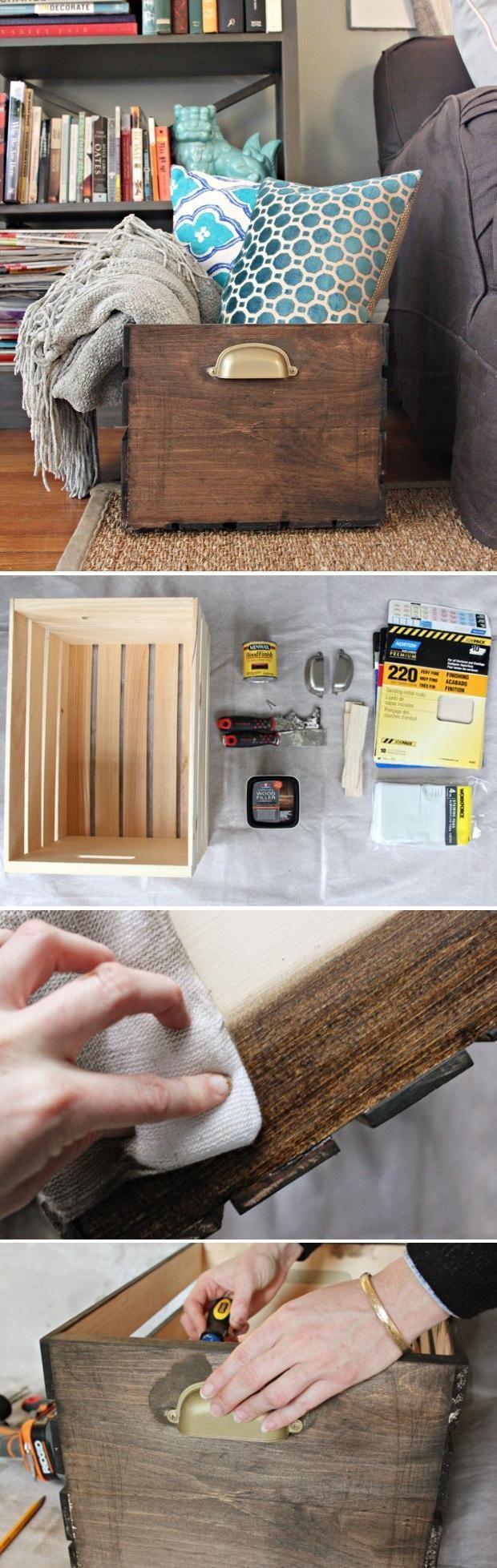 20 Diy Wooden Crates Furniture Design Ideas