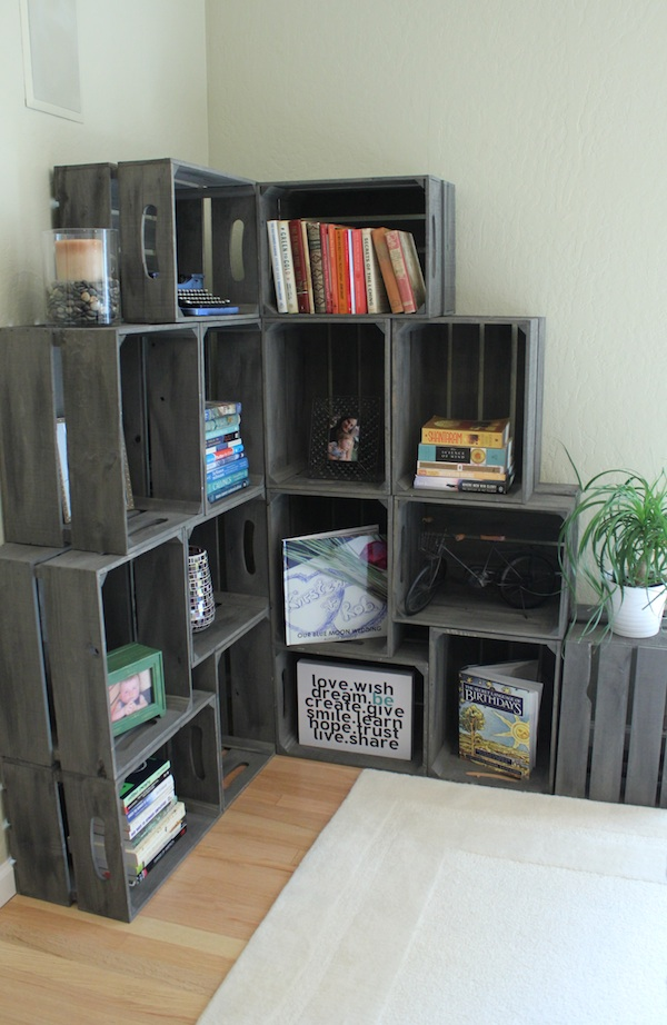 15+ Amazing Wooden Crates Furniture Design Ideas