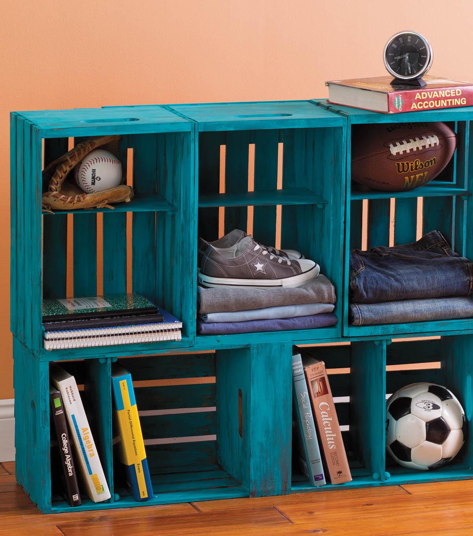 15+ Amazing Wooden Crates Furniture Design Ideas