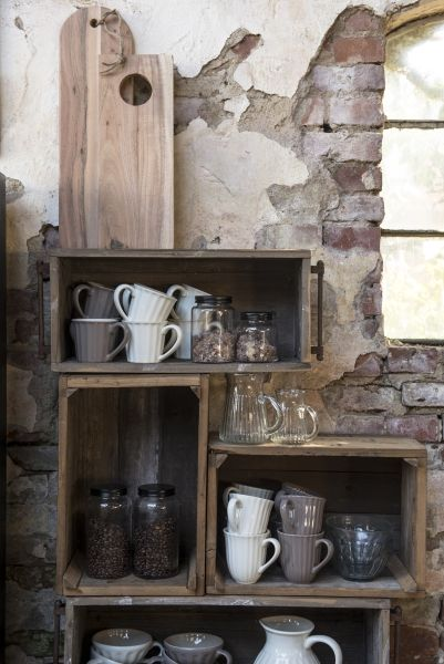 15+ Wooden Crates In Kitchen: A Brilliant Idea To Add Extra Storage Space