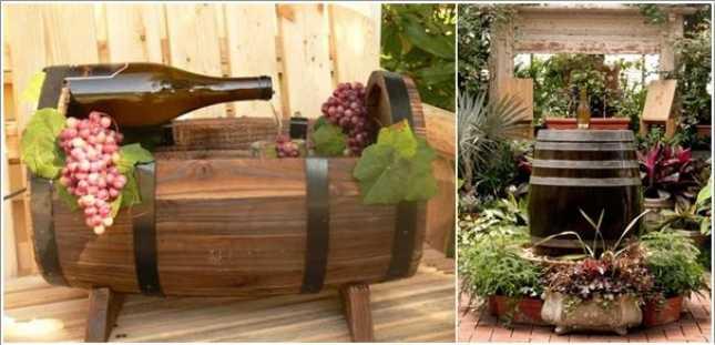 wooden garden fountains 12